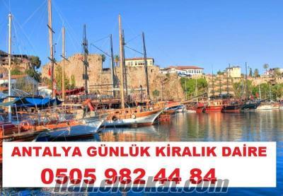Antalya Günlük Kiralık=Haftalık Kiralık Apart-Daire-ev-yazlık-villa