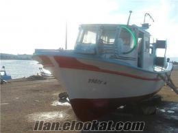 izmir çeşmede sahıbınden satılık hala çalışan balıkcı teknesi