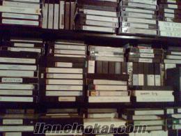 sinema filmleri(35mm, 16mm, 8mm), afişler, VHS, BETA YABANCI FİLMLER