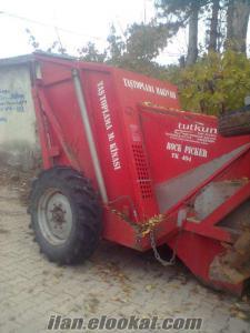 satlık taş toplama makinası