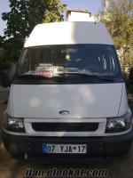 Antalya/ serik'te sahibinden satılık ford transit