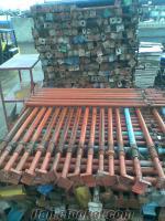 Bursada satılık 2. el inşaat direği v.b. malzemeler