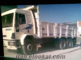 sahibinden satılık 2520 cargo 2001 model