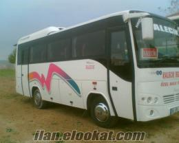 sahibinden satılık hatlı otobüs