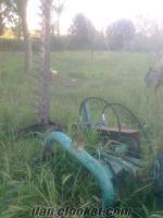 Zıpkalı çayır biçme makinası