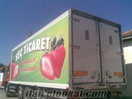 satılık kamyon kasası