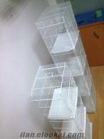 satılık muhabbet ve kanarya üretim kafesleri