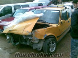 Uşakta sahibinden acil satılık kazalı araba 1991 Doğan-L