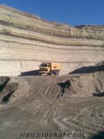 kayseride satılık çalışır vaziyette yüksek rezerve ponza maden -kum ocağı