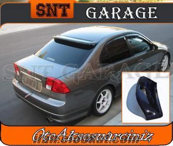 Honda Civic Vtec2 Arka Cam Üstü Rüzgarlık Spoiler ŞNTden