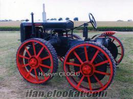 En Kapsamlı Antika Traktör Fotoğraf Arşivi