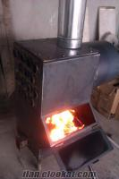 Katı Yakıtlı Soba Fabrika Atölye ve İşletmeler İçin Çift Fanlı