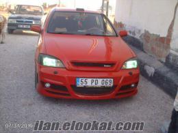 sahibinden satılık aracım modifiyeli ve ful ful dör Opel Astra Kırmızı