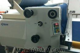 istanbulda sahinden satılık tesan pastal serim makinası