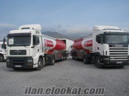Toplam 67 adet Çekici, tanker, dorse vb... takas ile satılıktır.