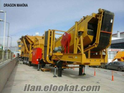 New Generation Mobile Crushing and Screening Plant Closed Circuit Type Dragon 20