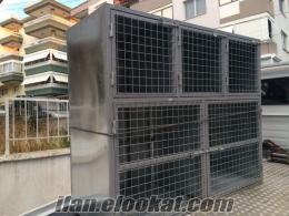 İzmir satılık kedi köpek kuş pansiyon amaçlı metal kafes