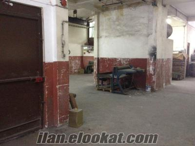 Peköz Sanayi Sitesinde Gezer Vinçli Sahibinden Satılık İşyeri