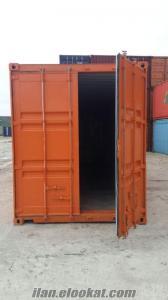 satılık depolama amaçlı konteynerler