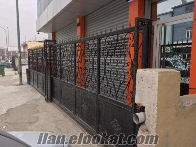 ankarada sahibinden satılık demir sürgülü kapı