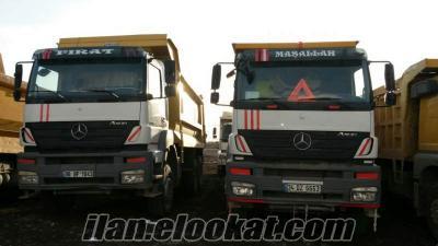 kiralık damperli kamyon