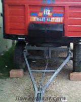 satılık 4 tekerlekli römork