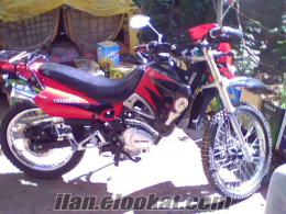 mersinde sahibinden satılık yuki marka 200 cc lik kros motoru