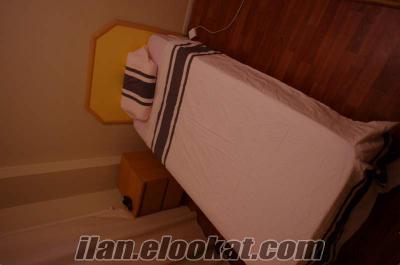 yataş marka baza+yatak, 2 adet çalışma masası, 1 adet 3lü koltuk