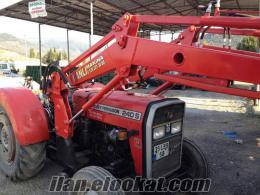 Ödemişde traktör kepçe