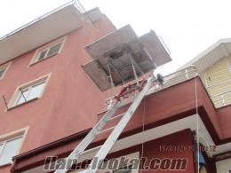 Elle Kurmalı Satılık BÖCKER Marka 27 Metre Evden Eve Asansör