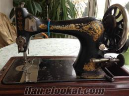 antika singer dikiş makinası