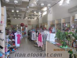 sahibinden devren kiralık çocuk giyim mağazası veya satılık çocuk giyim ürünleri