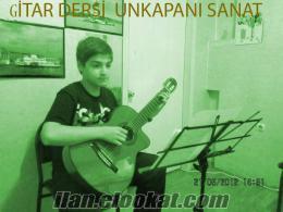 FATİH UNKAPANI SANAT GİTAR KURSU Klasik, Akustik, Bass, Elektro