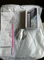 IPHONE 4S 16GB SIFIR, GARANTİLİ, KAYITLI, SİMKİLİTSİZ