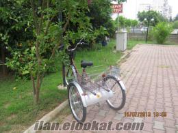 satılık üç tekerlekli bisiklet