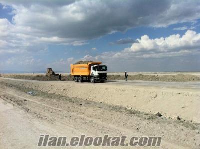 Sahibinden kiralık 18 adet çift çeker mercedes 3340 damperli kamyon