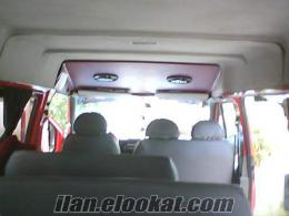 2000 model ford transit 14+1 minübüs