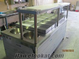 endüstriyel mutfak paslanmaz pişirme fırın ocak kuzine sulu yemeklik