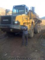 belden kirma ve oklid kaya kamyonu oparatoruyum