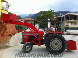 Ödemişde traktor kepçe