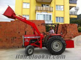Aksarayda traktör kepçe