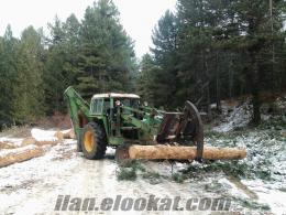 Kütahya simav dan satılık traktör kepçe johndere 2130