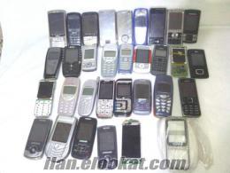 32 adet arızalı cep telefonu