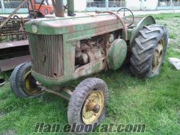 1948 model antika deyerinde traktör