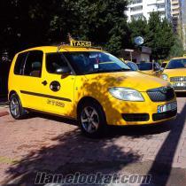 satılık 2007 skoda roomstar taksi