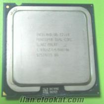 intelpentium dual core E2160 işlemci + soğutucu + fan.