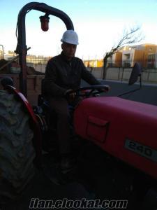 İstanbul da kiralık traktor