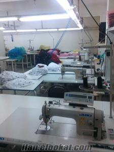 satılık tekstil atolyesi