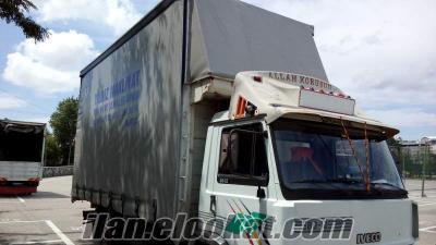 Bursada sahibinden kiralık İveco 6 teker tenteli kamyon