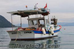 muğlada sahibinden satılık balıkcı teknesi